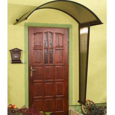Daszek nad drzwi poliwęglanowy